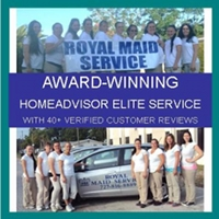 Award winning home advisor elite service with 40+ verified customer reviews