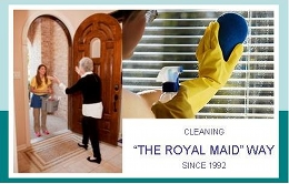 Cleaning the Royal Maid way