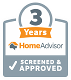 3 Years Home Advisor - Screened and Approved